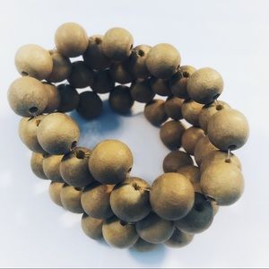 3for $20  Wood Bead Bracelet